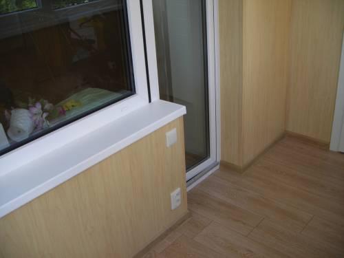Balkon 6 - балконы - фотоальбом - отделка и утепление балкон.